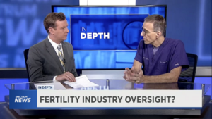 [Spectrum News] Is There Oversight Within the Fertility Industry?